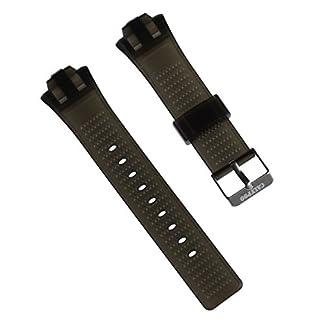 Calypso Reloj de Pulsera Brazalete Deportivo de Material PU Negro para Calypso K5601Relojes