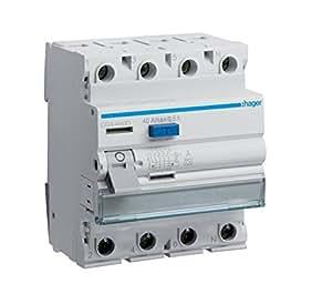 Hager CDA440D Disjoncteur différentiel FI 40 A (Import Allemagne)