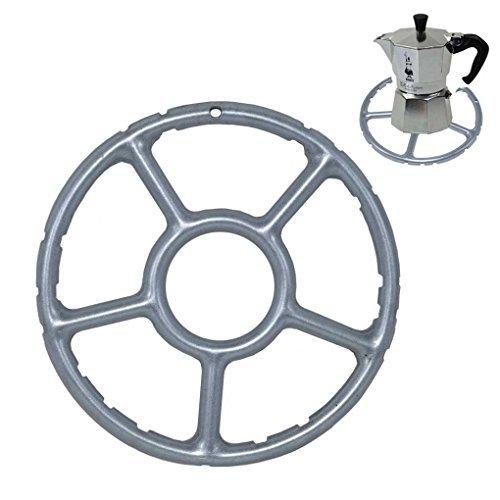 TOME Legierung multifunktions Gas Ring Reducer Trivet Herd Top Herd Herd Wärme Simmer Kaffeekannen 15 cm