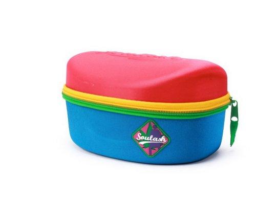 Große Gläser Hard Case, Ski Goggle Box, Snowboard Goggle Case Rot&blau -