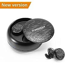 Auriculares Bluetooth Inalámbricos 5.0, Tronsmart TWS Auriculares Bluetooth Deportivos Estéreos con Micrófono, IPX5 Impermeable