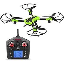 Metakoo Drone RC Quadcopter Ajustable 720P HD Cámara Altitud Mantenga Modo Sin Cabeza 3D Flip Parada De Emergencia 2.4GHz 4CH 6 Axis Gyro Drone