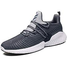 GJRRX Zapatillas Deporte Hombre Zapatos para Correr Athletic Cordones Running Sports Sneakers 39-46