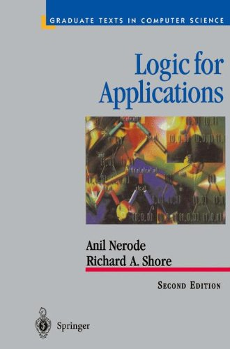 LOGIC FOR APPLICATIONS par Anil Nerode