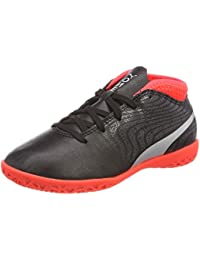 Puma Evospeed Indoor Nf 5, Chaussures de Fitness Mixte Adulte, Orange (Black-Fiery Coral), 39 EU