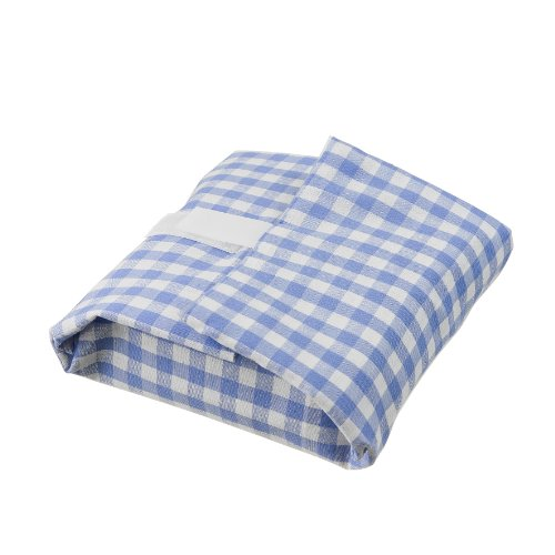 Lurch Pausenbrot 220901 Sandwich Cloth 'Wrap It' Checked Blue