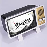 LIUXIN Phone Screen Amplifier-TV Stereo Box Magnifying Glass-HD Projection 3d Video Bracket