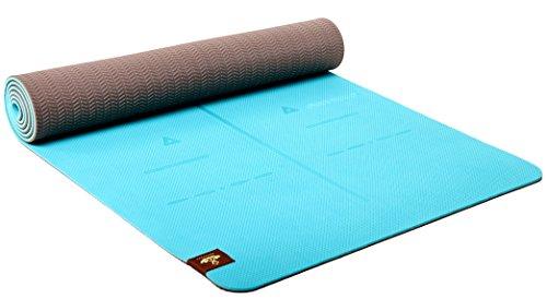 Heathyoga Eco Friendly Non Slip Extra Large Yoga Mat, Turquoise