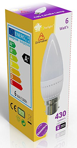 starlight-gu10-dimmable-led-candle-frost-ampoule-b22-a-baionnette-3000-k-couleur-blanc-chaud-equival