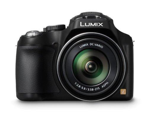 Panasonic Lumix DMC-FZ72 Digital Camera - Black + Case and 16GB Memory Card (16.1MP, 60x Optical Zoom) 3.0 inc LCD