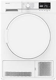 Sèche linge Condensation Sharp KDGCB7S7PW9 - Condensation - Chargement Frontal - Départ différé - Indicateur t