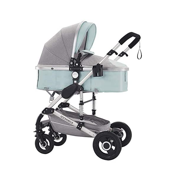 Baby Stroller 2-in-1 Reclining and Foldable Double-Sided Stroller Cradle_Cyan_Stroller CZPF ➤Switch between kids tricycle and baby balance bike by pedals. No pedal design help your kids develop essential bike skills such as balance, steering and coordination; With pedal it can help kids master riding skills ➤SAFE AND STURDY: CE Certification, all the materials and design are safe for kids. kids tricycles use non-slip handlebar, comfortable PU leather seat, durable wheels, sturdy steel frame and stable triangular structure to ensure convenience and safety. 3 wheels provide a safe riding for your kids ➤Only need two Steps to open or fold. It is almost fully assembled. Just use the wrench to put some of the parts. The package includes instructions and wrench. it is easy to carry and easy for a child to handle 1