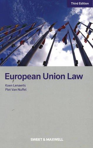 European Union Law por Koen Lenaerts