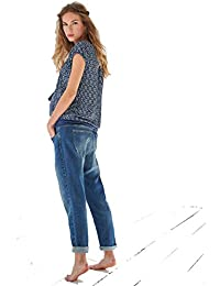 Queen Mum Umstandsmode Damen Jeans Relaxed Loose-Fit-Umstandsjeans 73693760