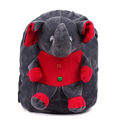 Toyswala Kids School Bag Soft Plush Backpack Cartoon Toy, Children's Gifts Boy Girl/Baby/ Decor School Bag Play School Elephant Kids School Bag