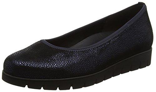 Gabor Shoes Damen Comfort Sport Geschlossene Ballerinas, Blau (16 Ocean), 39 EU