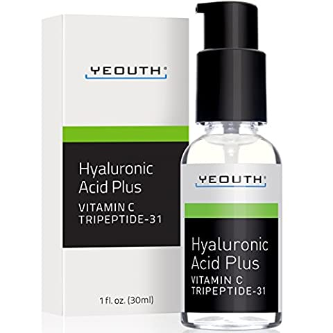 Hyaluronic Acid Plus Vitamin C Serum & Tripeptide 31 Trumps ALL Others.