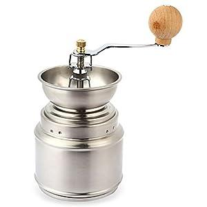 Stainless Steel Adjustable Manual Ceramic Coffee Grinder Bean Miller by Generic