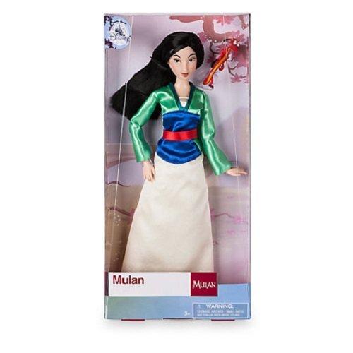 Disney Store Prinzessin Mulan Klassische Puppe & Mushu Figur 30cm - Prinzessin Disney Mulan
