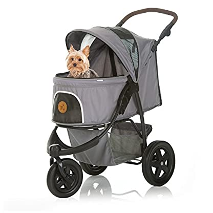 TOGfit Pet Roadster - Luxury Pet Stroller for Puppy, Senior Dog or Cat | Easy Foldable Three Wheels Travel Pet Jogger… 12