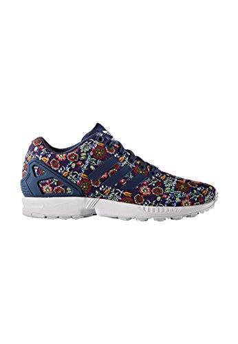 adidas Zx Flux, Sneakers Basses Femme Bleu