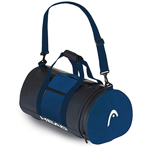 Head Tour Bag 45–Unisex, Unisex, Negro / Azul marino, Einheitsgröße