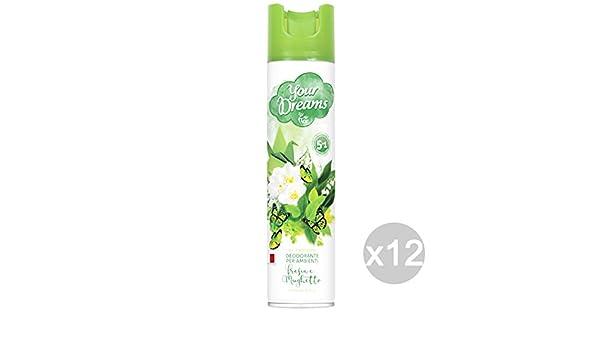 12 Deodorante Your Fresiamughetto300 Dreams Ambiente Ml Spray Set HE9I2D