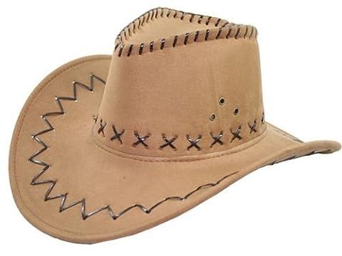 Cowboy Hut Wild West Western Country Mexikanische Marron 03 (Kostüm D'indien)
