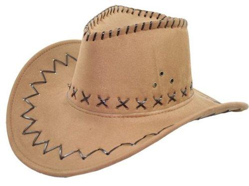 Cowboy Hut Wild West Western Country Mexikanische Marron (Top Kostüm Hut Australien)