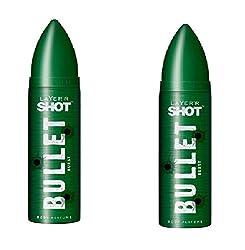 Layerr Shot, Bullet Burst Deodorant For Men - ( Set of 2 )