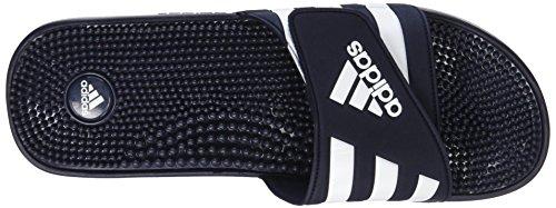 Adidas - Adissage, Chaussures De Plage Et Piscine Unisex Kids Blue (new Navy / Running White Ftw)
