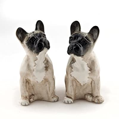 Quail Ceramics - French Bulldog Salt and Pepper - Fawn by Quail Ceramics