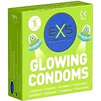 EXS Glow Laser Condoms - 3 Leuchtkondome preisvergleich bei billige-tabletten.eu