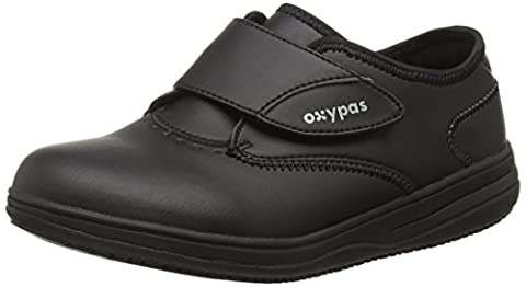 Oxypas Medilogic Emily Slip-resistant, Antistatic Nursing Shoe, Black (Blk), 7 UK (41 EU)