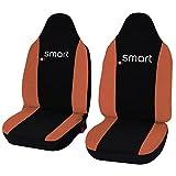 Lupex Shop smart.3S Nr. AR Sitzbezüge, zweifarbig schwarz/orange
