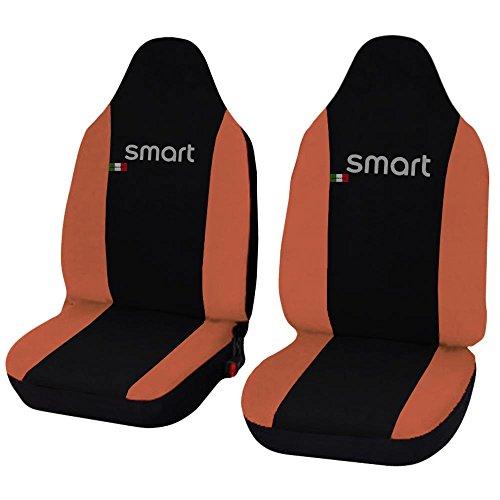 Lupex Shop Smart.3s_N.Ar Coprisedili, Bicolore Nero/Arancio