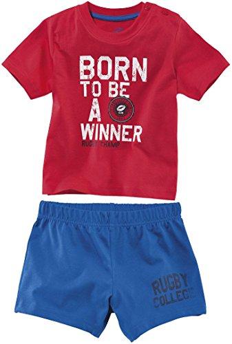 lupilu-pigiama-due-pezzi-maniche-corte-ragazzo-rot-blau-5-anni