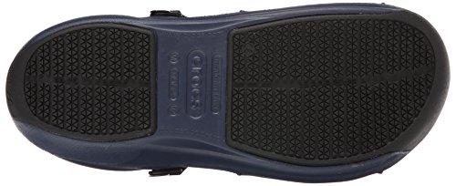 crocs Bistro Pro Unisex-Erwachsene Clogs Blau (Navy)