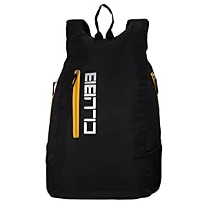 Clubb Casual Canter College Backpack- Black