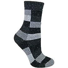 Sock Snob Mujer transpirables invierno termicos lana y seda calcetines
