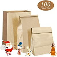 24 er Set Geschenktüte 18,4 x 22,8 cm Weihnachten Strumpf Weihnachtstüte