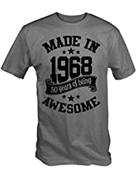 6TN Hecho EN 1968 50 Years of Being Sorprendente Camiseta