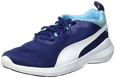 Puma Unisex-Kinder Pacer Evo Jr Sneaker, Rot (Toreador-White), 37 EU