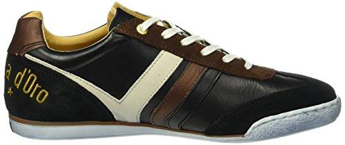 Pantofola d'Oro Herren Vasto Uomo Low Top Schwarz (25y)