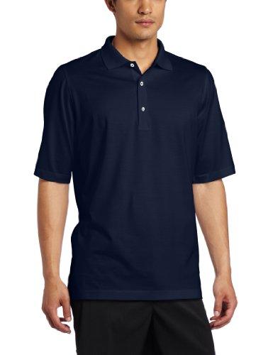 Mercerisierte Golf (Fairway & Greene Herren Golfshirt Signature Solid Lisle, Herren, Navy, Medium)