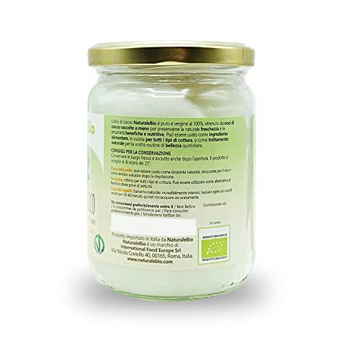 Zoom IMG-2 olio di cocco biologico extra
