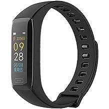 Reloj inteligente pantalla coloré Monitor de ritmo cardiaco Tensiómetro Bluetooth mallalah Fitness Tracker pulsera V7 a