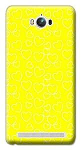 Mott2 Back Case for Asus Zenfone Max | Asus Zenfone MaxBack Cover | Asus Zenfone Max Back Case - Printed Designer Hard Plastic Case - love theme