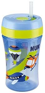 Nuk, Easy LearningFun Cup, biberon con cannuccia in silicone, a partire da 18mesi, 300ml