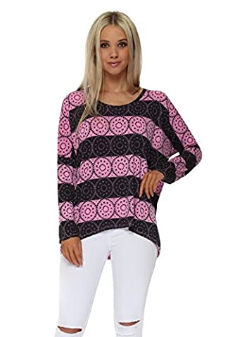 A Postcard From Brighton Lola Love Lace Passionata Karma Top S/M Pink